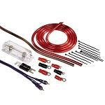Verkabelung im Auto mit einem richtigen Kabel-Set.